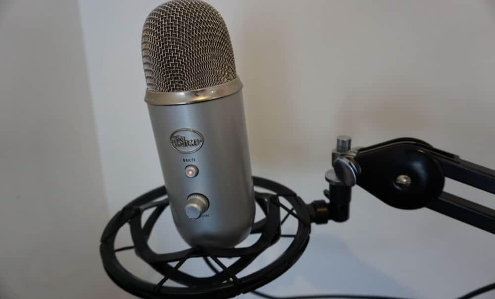 Blue Yeti Mikrofon Test Groß