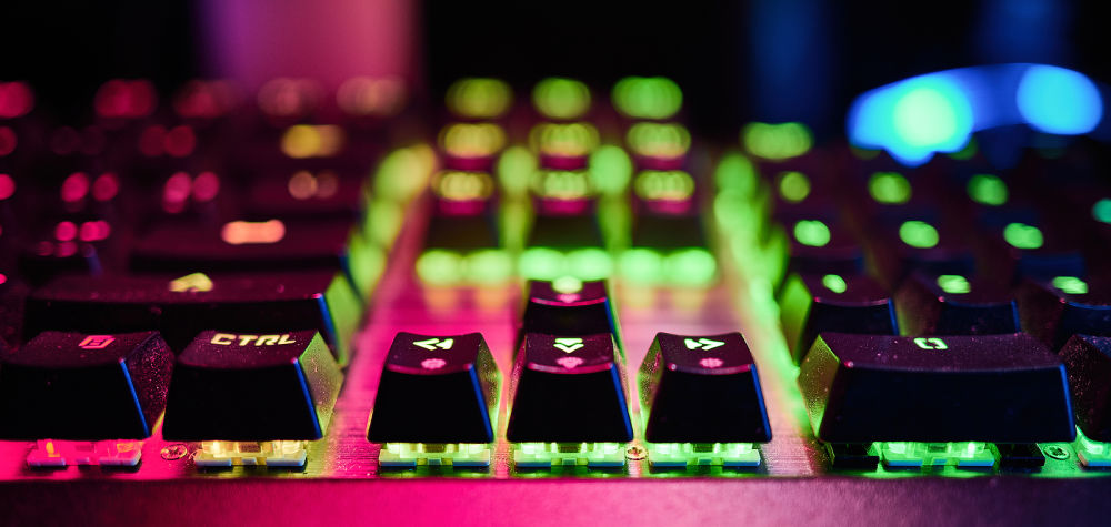 rgb tastatur mit anti-ghosting